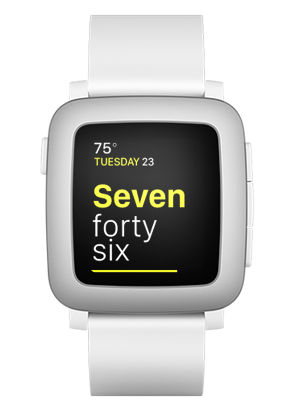 text time watchface